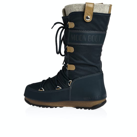 Moon Boot Monaco Felt Womens Boots