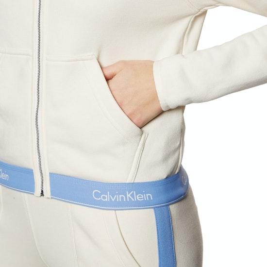 Sweat à Capuche avec Fermeture Éclair Calvin Klein Modern Cotton Lounge
