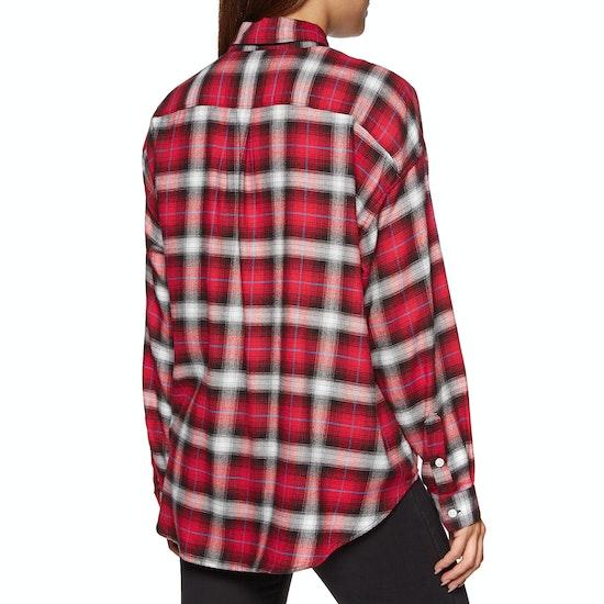 Levi's Painter Shirt Chipmunk Obsidian Plaid Womens Shirt