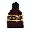 Jack Wills Kitson Jack Wills Intarsia Hat Beanie - Plum