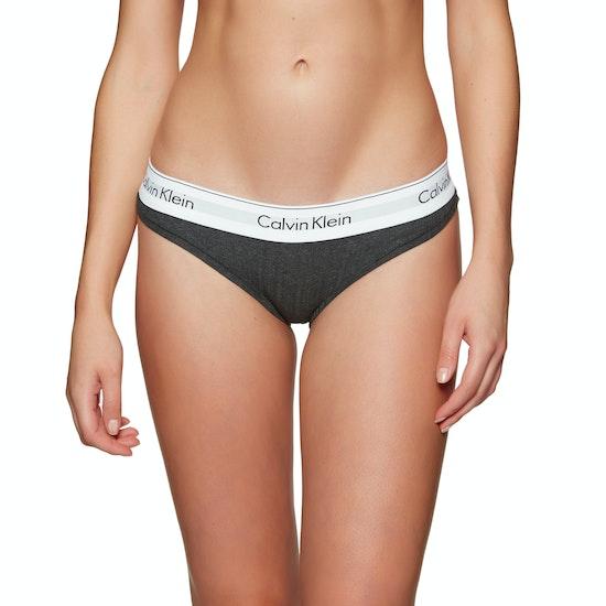 Calvin Klein Modern Cotton Rib Bikini Womens Knickers