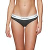 Calvin Klein Modern Cotton Rib Bikini Damen Schlüpfer - Rib Knit Charcoal Heather