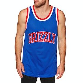 Tops de Sport Grizzly Frazier Basketball Jersey - Blue
