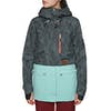 Planks Good Times Insulated Womens Snow Jacket - Midnight Palm