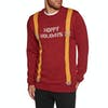Volcom Suspenders Sweater - Drip Red