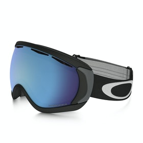 Oakley Canopy Snow Goggles - Matte Black ~ Prizm Sapphire Iridium