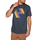 Quiksilver Retro Right Mens Short Sleeve T-Shirt