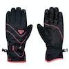 Roxy Jetty Solid Womens Snow Gloves - True Black