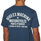 Deus Ex Machina Milano Address Mens Short Sleeve T-Shirt