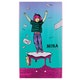 Welcome Magilda - Nora Vasconcellos Pro 8.125 Inch Wicked Princess Skateboard Deck