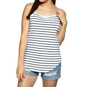 SWELL Thin Strap Womens Tank Vest - Stripe