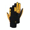 Planks High Times Snow Gloves - Mustard/woodsy