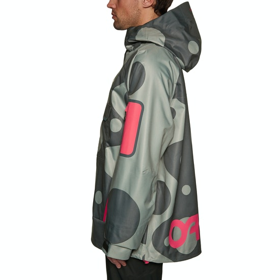 Oakley X Jeff Staple 10k 3l Shell Pullover Snow Jacket