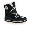 Sorel Glacy Explorer Shortie Faux Fur Womens Boots - Black