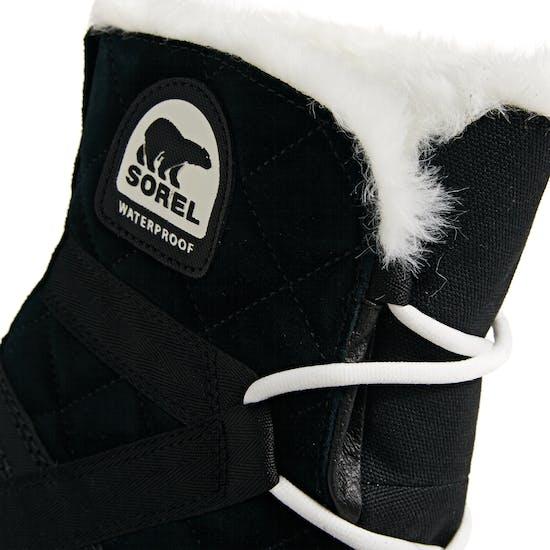 Sorel Glacy Explorer Shortie Faux Fur Womens Boots