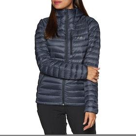 Rab Microlight Alpine Womens Down Jacket - Steel Passata