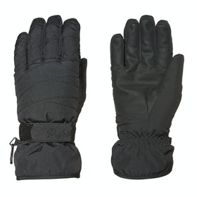 Protest Fingest Womens Snow Gloves - True Black