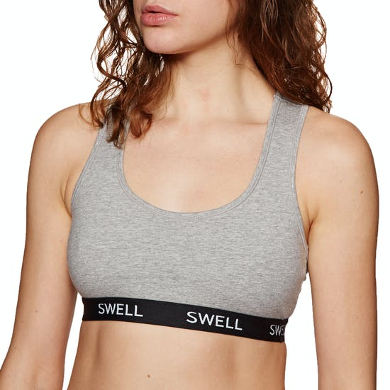 SWELL Crop Bralette Womens Sports Bra
