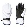 Roxy Jetty Solid Damen Ski-Handschuhe - Bright White