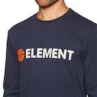 Element Blazin Mens Long Sleeve T-Shirt