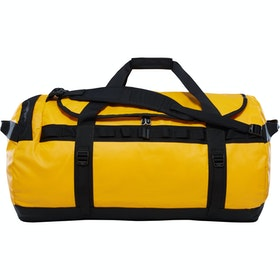 North Face Base Camp Large Duffle Bag - Summit Gold TNF Black