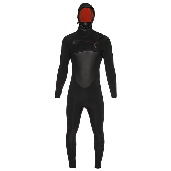 Xcel Drylock 4/3mm 2019 Chest Zip Hooded Wetsuit