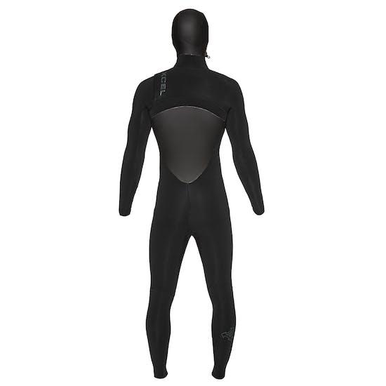 Xcel Drylock 4/3mm 2019 Chest Zip Hooded Wetsuit