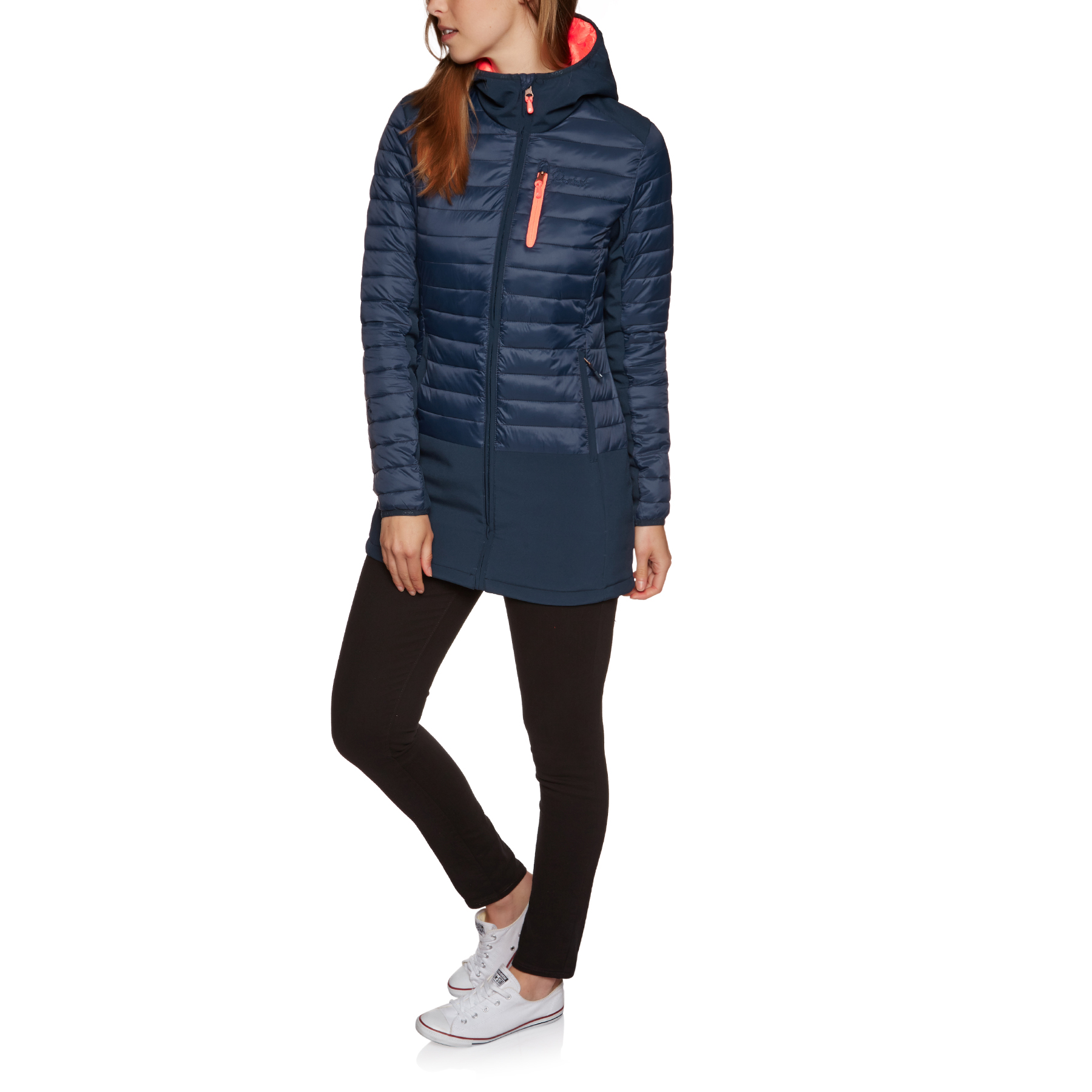 Protest Yukon Outerwear Womens Jacket Softshell Ground Blue All Sizes