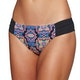 Seafolly Sun Temple Ruched Side Retro Bikini Bottoms