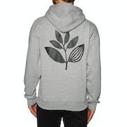 Magenta Plant Pullover Hoody