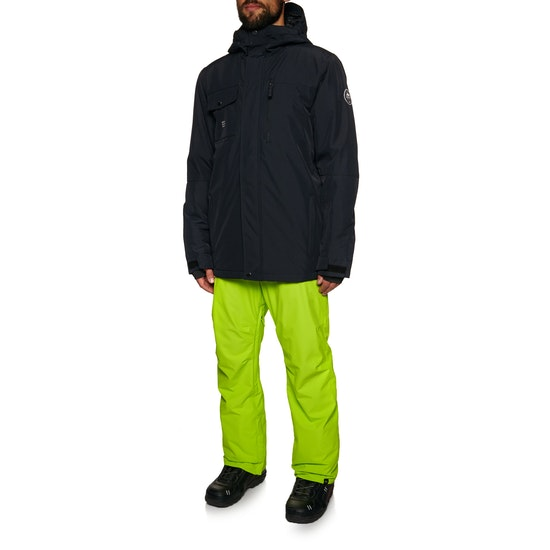 Quiksilver Mens Mission Solid Snow Jacket