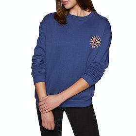 SWELL Spectrum Crew Womens Sweater - Navy