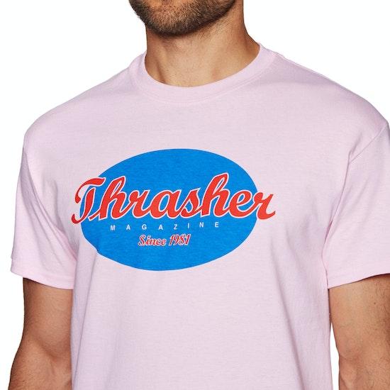 T-Shirt de Manga Curta Thrasher Oval
