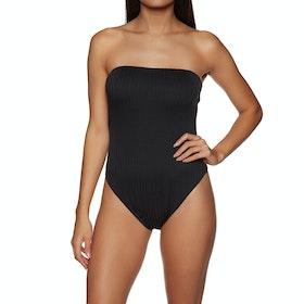SWELL Miami Skinny Strap Womens Swimsuit - Black
