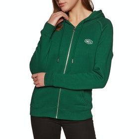 SWELL Ashley Womens Zip Hoody - Forest