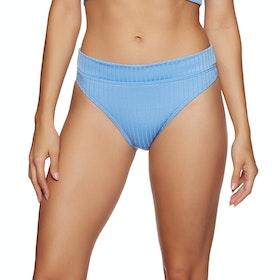 SWELL Miami High Cut Bikini Bottoms - Blue