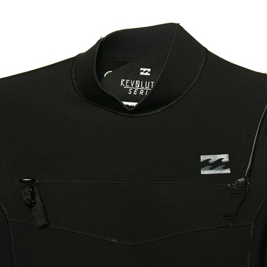 Billabong Revolution 2mm 2019 Chest Zip Shorty Mens Wetsuit