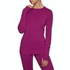 SWELL Andorra Thermal LS Womens Base Layer Top - Mauve