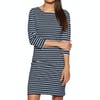 Joules Riviera Dress - Hope Stripe French Navy
