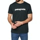 Camiseta de manga corta Patagonia Text Logo Organic