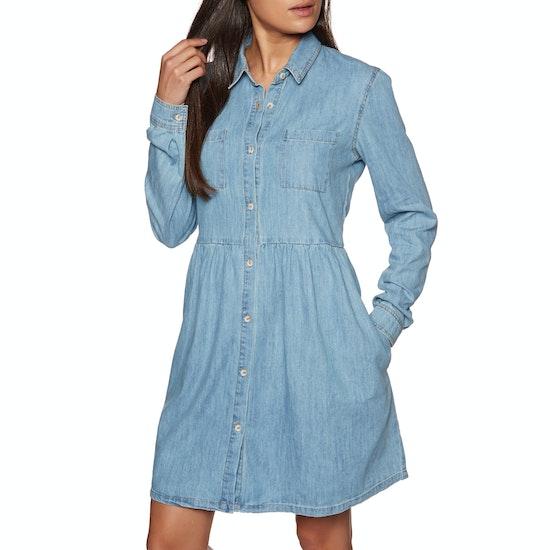 SWELL Chambray Shirt Dress