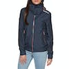 Superdry Arctic Hooded Cliff Hiker Womens Jacket - New Navy Marl Coral Blush