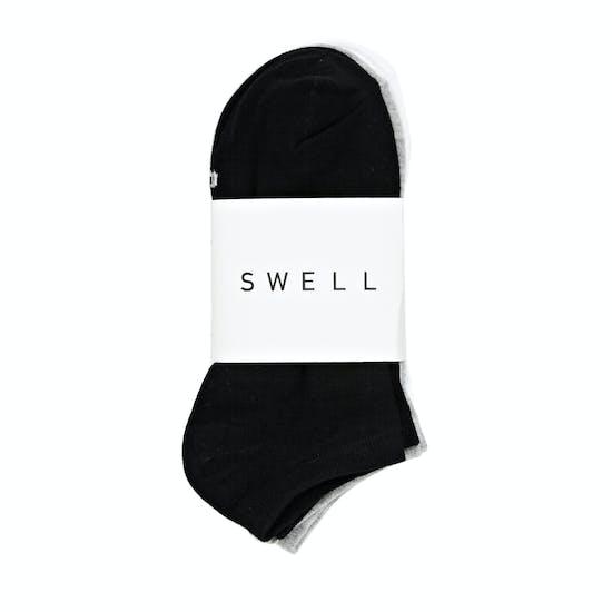 SWELL 3 Pack Ankle Damen Socken