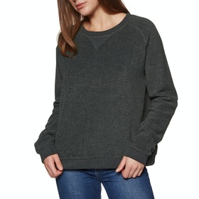SWELL Illy Supersoft Reverse Crew Womens Sweater - Charcoal