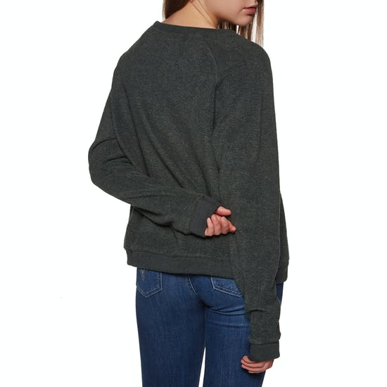 SWELL Illy Supersoft Reverse Crew Womens Sweater