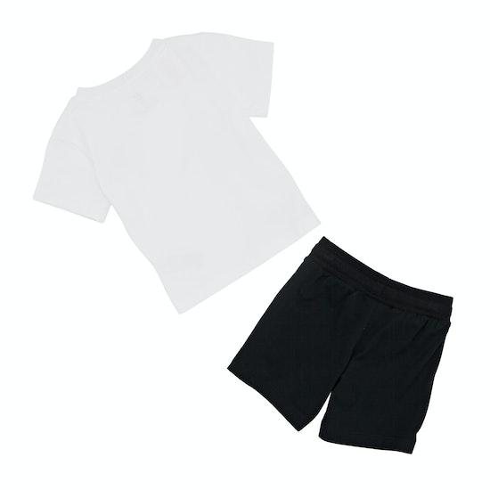 T-Shirt de Manga Curta Adidas Originals Bandana Shorts Set with