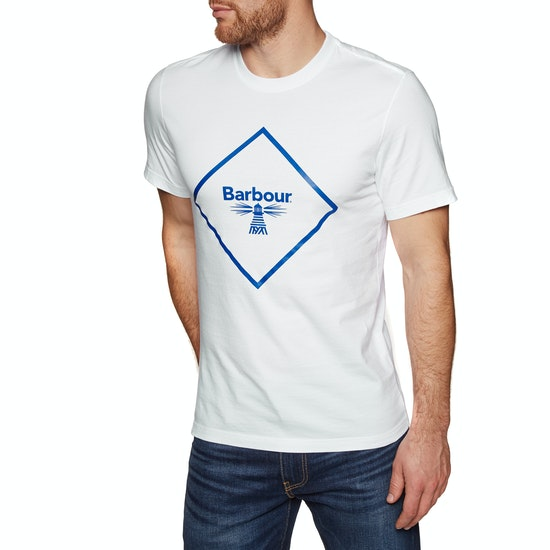 Barbour Beacon Large Logo Short Sleeve T-Shirt