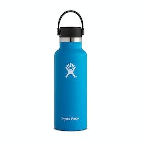Bottiglia d'Acqua Hydro Flask 18 oz Standard Mouth With Flex Cap - Pacific