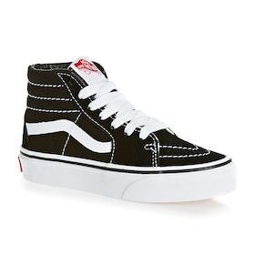 Chaussures Enfant Vans SK8 Hi - Black True White