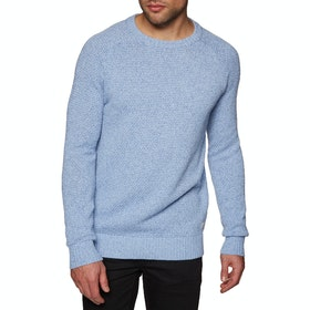 SWELL Wicklow Crew Sweater - Blue